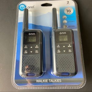 Walkie Talkie 22 Channel Long Range 2 Pack
